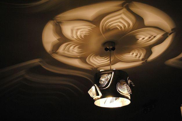 LAMPA nowoczesna niezwykly design LEAVES - Archerlamps - Lampy wiszące