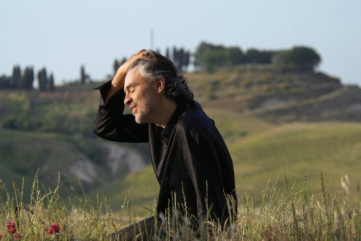 See Andrea Bocelli live in Tuscany while he's still alive!