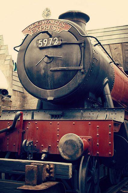 Harry Potter World. Hogwarts Express I think I would cry if I ever got to go.