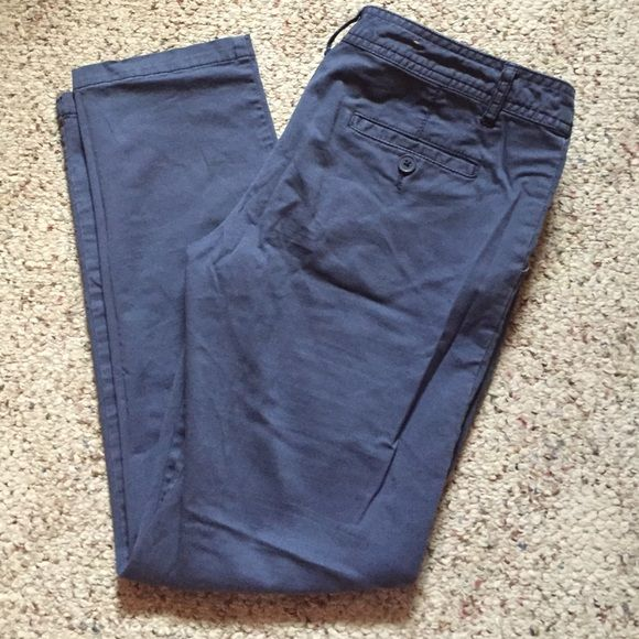Pastel pants Blue pastel Capri pants, from target still in great condition can fit size 4,5 and 6 Mossimo Supply Co Pants Capris