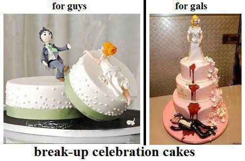 breakup celebration cakesCelebration Cakes, Breakup Celebrities, Cake Ideas, Cups Cake, Funny Stuff, Celebrities Cake, Parties Ideas, Awesome Cake, Breakup Cake