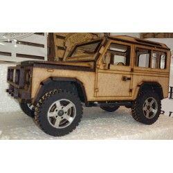 Landrover Defender Flatpack 3D Model