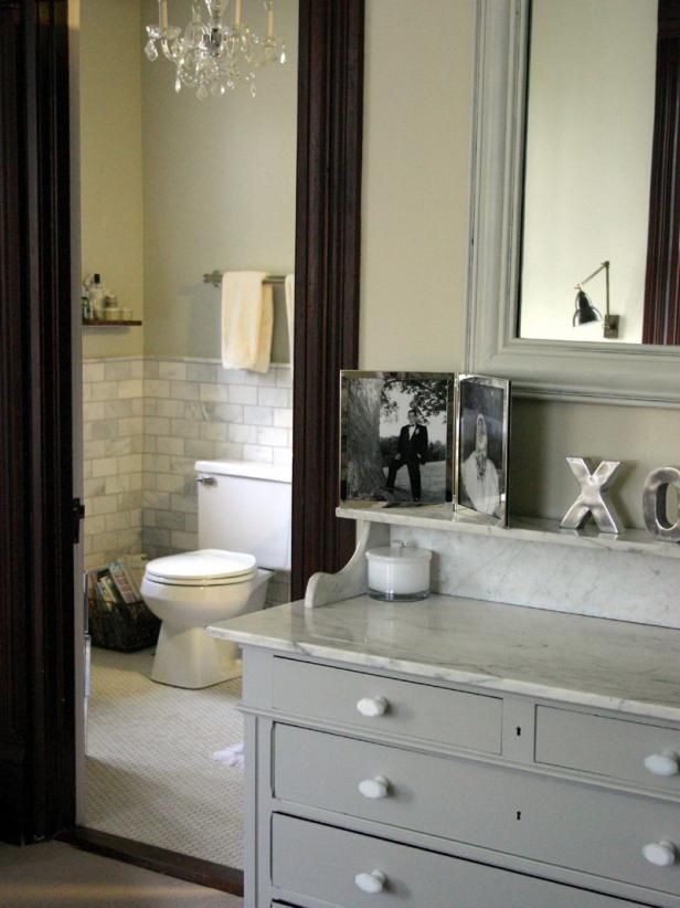 Find more bathrooms with vintage charm and repurposed materials at HGTV.com.