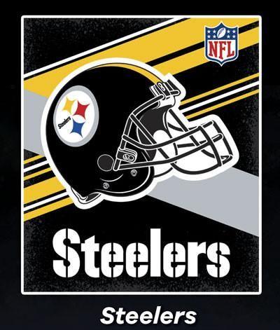 Cobertor Ligero NFL Steelers