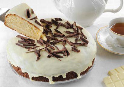 Čokoládový dort z bílé čokolády / White chocolate cake
