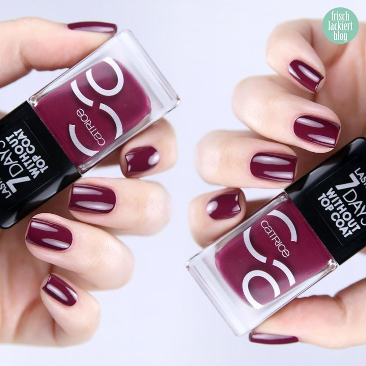 Catrice ICONails It´s a Berryful Day – swatch by frischlackiert