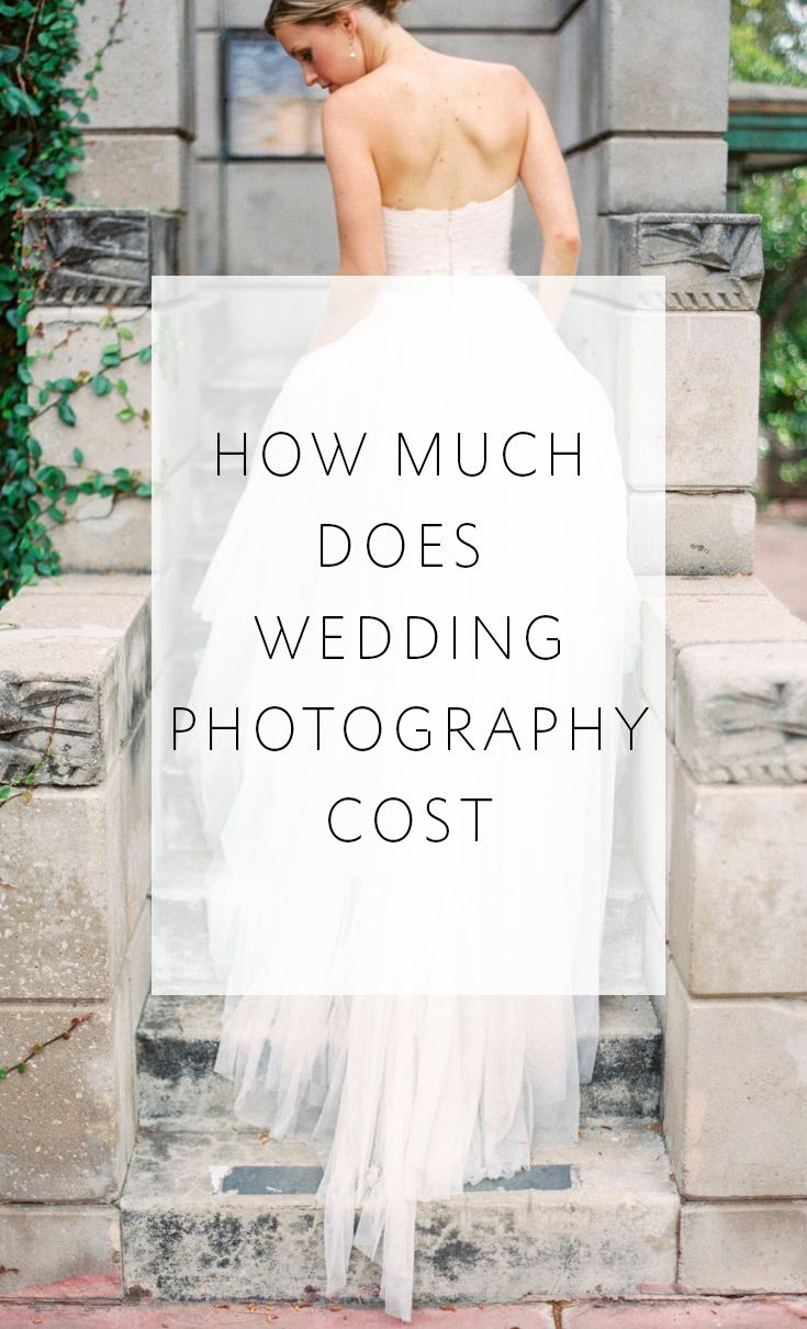 How Much Does Wedding Photography Cost