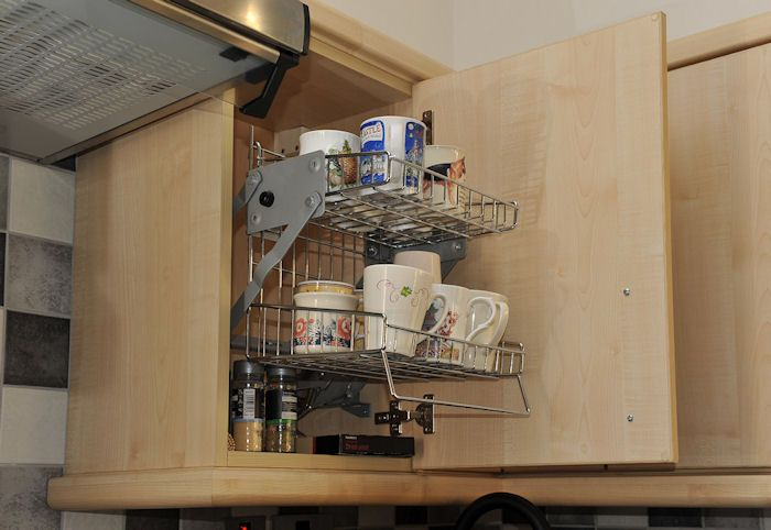 Accessible Cabinet Universal Design Pinterest Shelves Wall Units And Cabinets