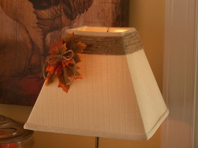 Fall Lampshade Idea