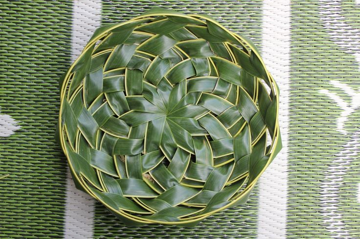 Basket Weaving With Leaves : Best weaving images on