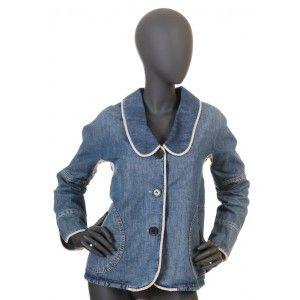 Marc Jacobs - jeansowa kurtka żakiet