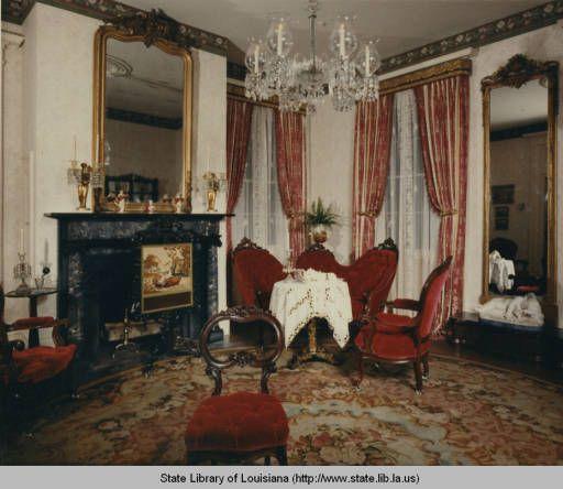 Louisiana plantation homes interior for Southern plantation homes interior