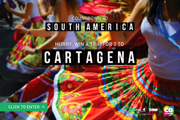 Win a Trip to Cartagena Colombia with LAN Airlines