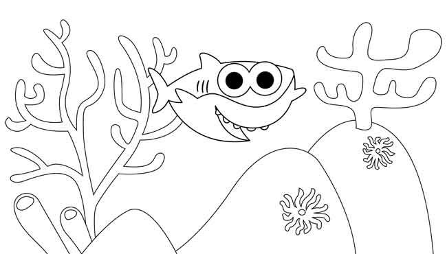10 Best Free Printable Baby Shark Coloring Pages For Kids Shark Coloring Pages Coloring Pages Coloring Pages For Kids