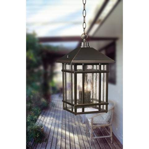 J du J Sierra Craftsman Outdoor Hanging Light - #26031 | LampsPlus.com