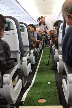 Putting on a Plane.... Perfect Airline #Golf #Funny #GolfHumor