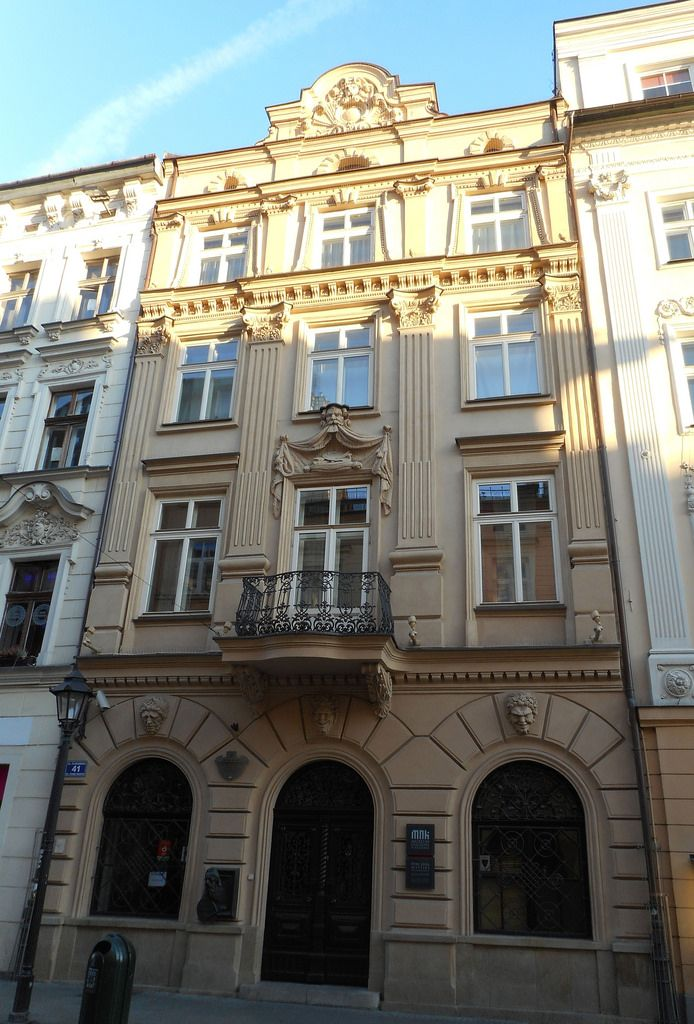 Jan Matejko's house in The Old Town in Krakow