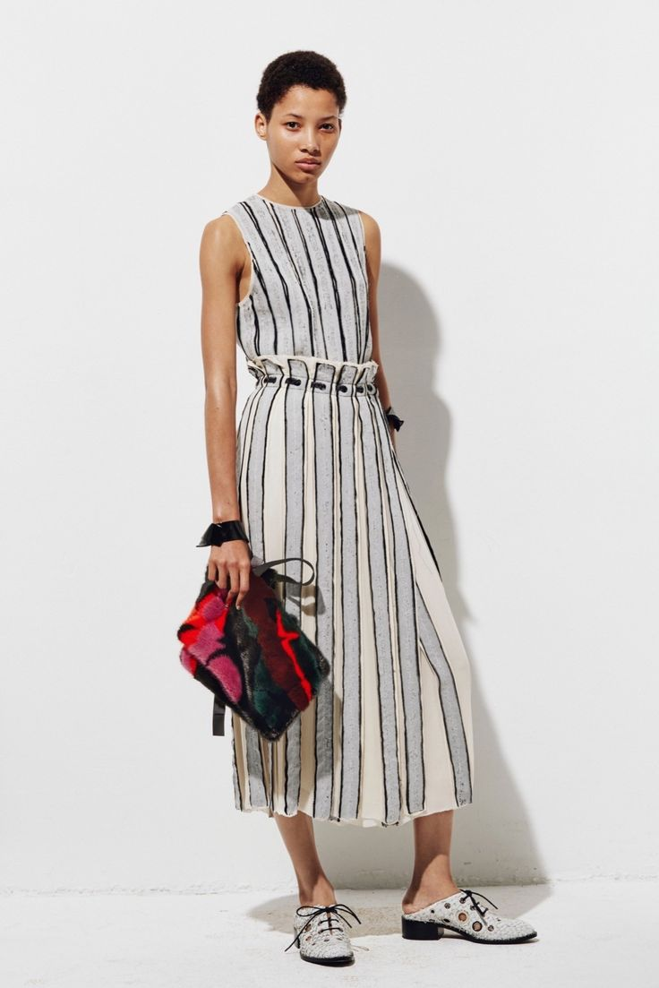 Flared Sleeveless Dress Spring/summer Proenza Schouler xYLtwSO4S6