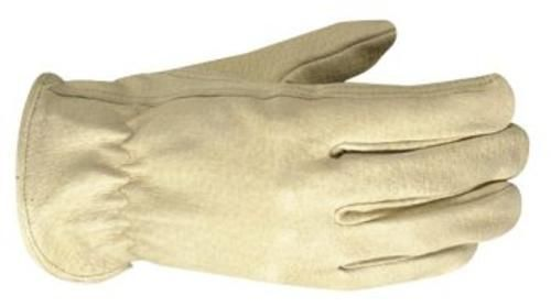 Wells Lamont 1133L Driver's Leather Work Glove, Large