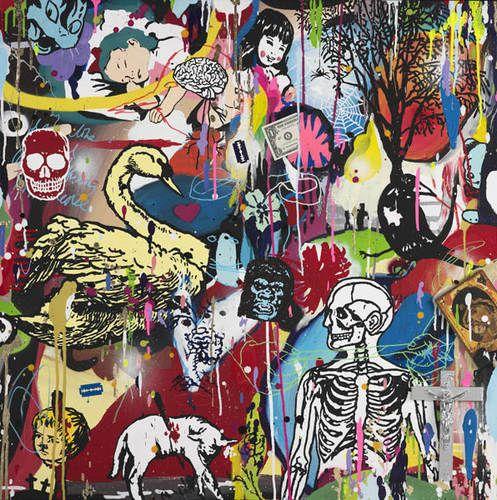 Dan Baldwin | Art | Swallowed By The System