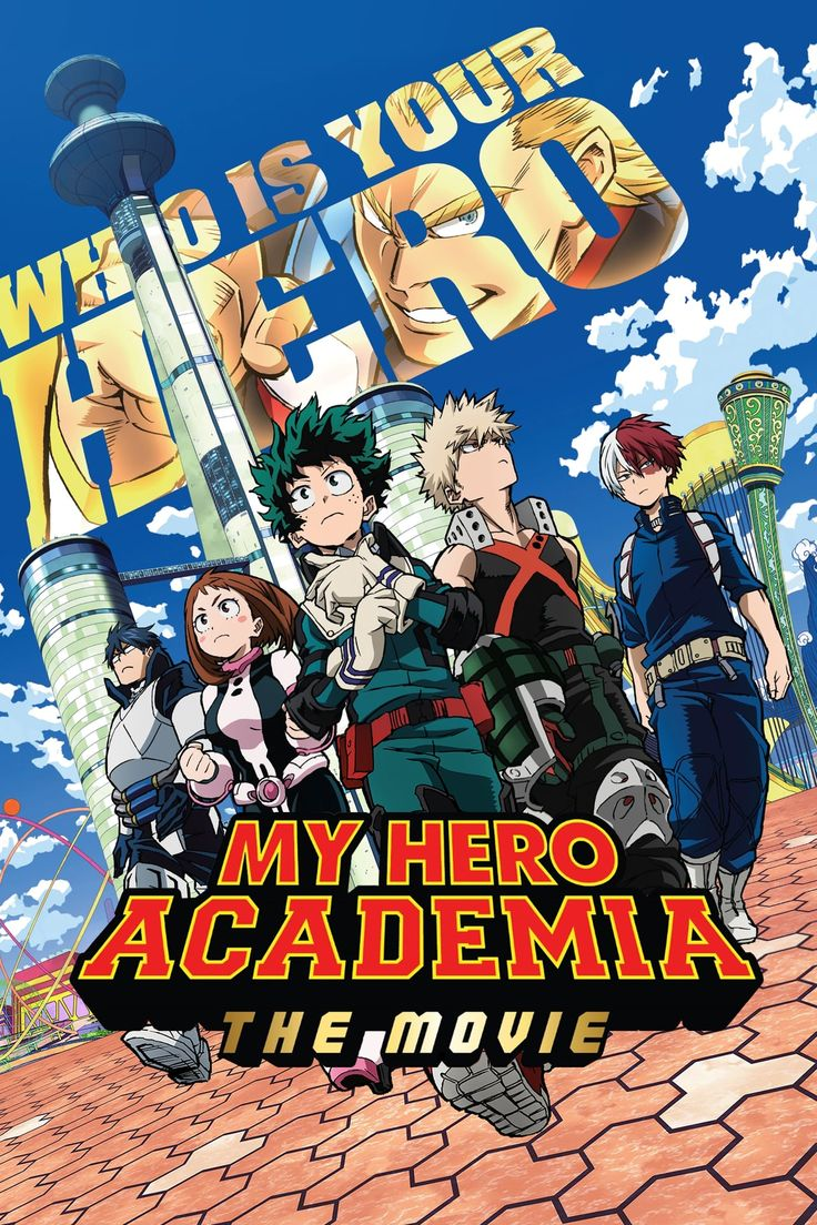 My Hero Academia the Movie The Two Heroes FULL'MoViE HD
