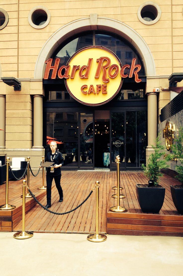 Hard Rock Cafe, Nelson Mandela Square, Johannesburg. Due to open first week December 2013.
