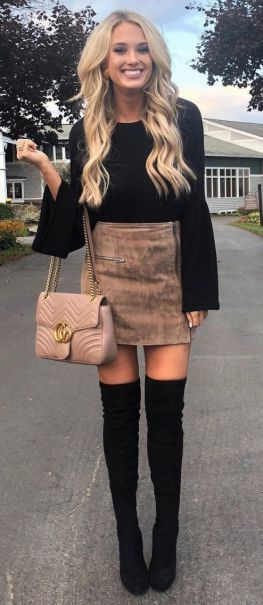 This is one of the cutest winter graduation outfits ! #casualfalloutfits