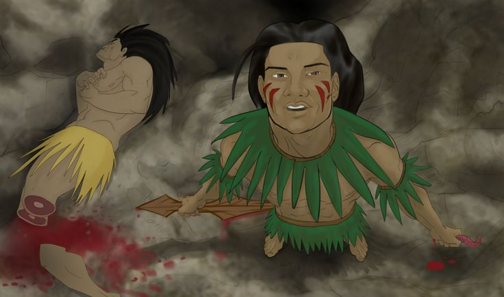 Niuean superhero Laufoli saved the world from the tyranny of a cannibal. Come at it Hollywood!http://readingwarrior.com/we-are-the-rock/