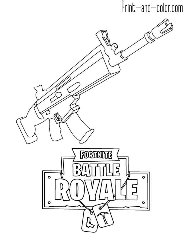 Раскраска Fortnite in 2019 Coloring pages, Drawings