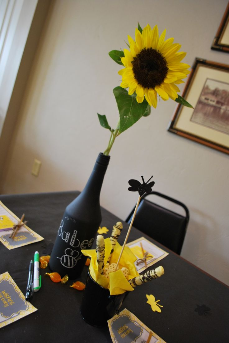 Mommy To Bee Centerpiece