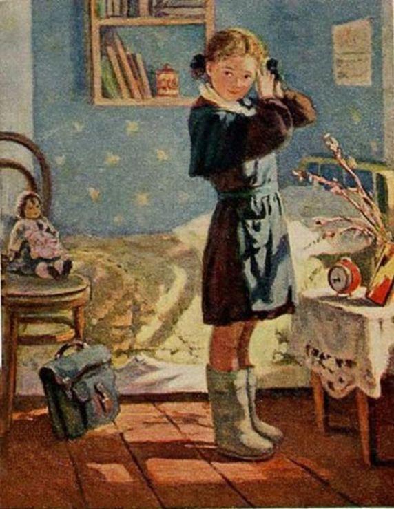 Детский и школьные открытки