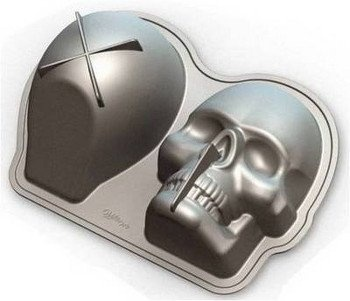 Skull Cake Pan Wilton 3 D I Will Have This Before