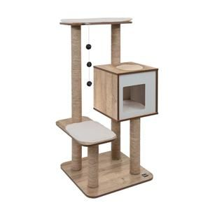 Buy the Vesper cat furniture V-High Base Oak online in Canada at an everyday low price. High quality and ready to ship the Vesper V-High Base is a best seller.
