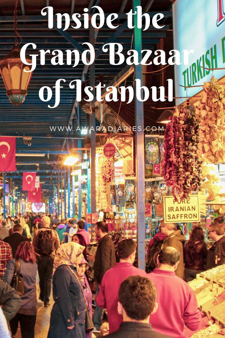 Inside Istanbul's Grand Bazaar!