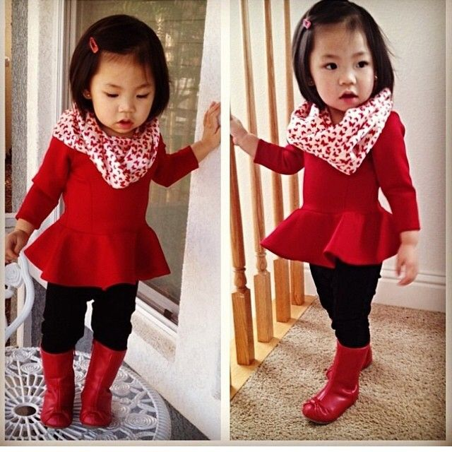 i literally can not handle the cuteness , yall ! baby peplum tops !? dyinggg