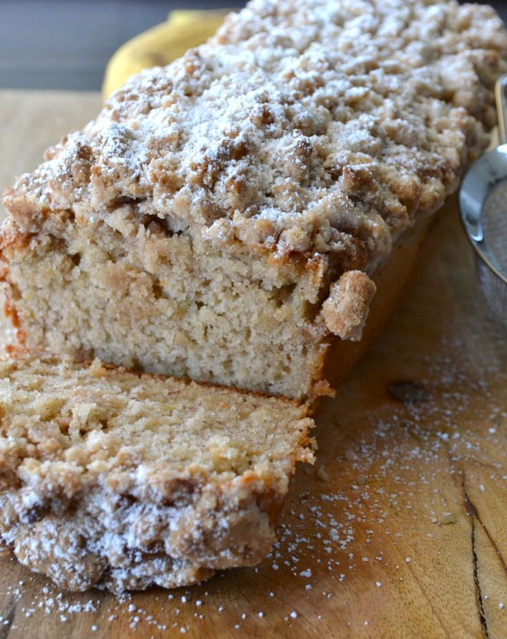ladies padded coats Cinnamon Crumb Banana Bread  Food