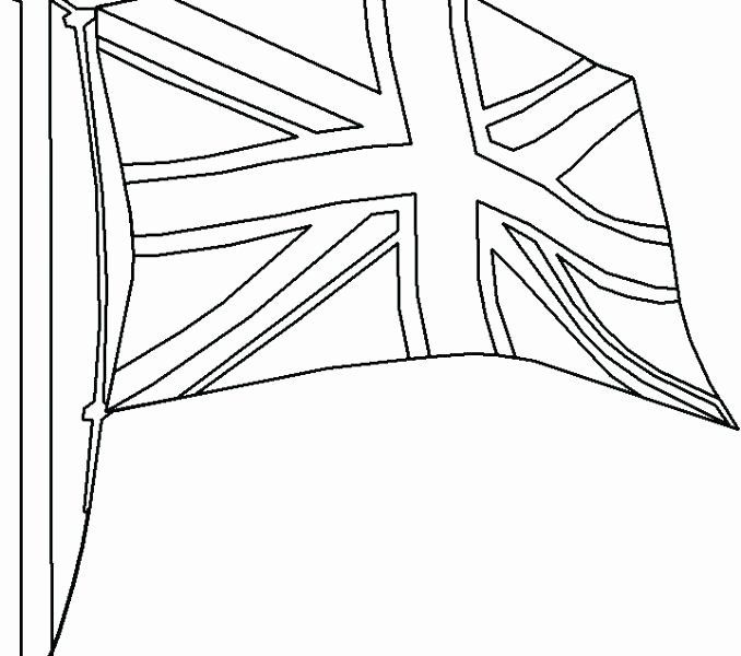 Uk Flag Coloring Page In 2020 Britain Flag Great Britain Flag
