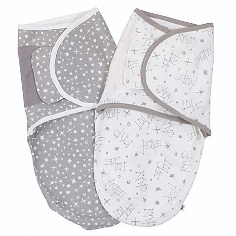 Wrap your baby in cozy comfort with an ED Ellen DeGeneres Swaddle. Made of all cotton in adorable print designs, these super-soft and stylish swaddles are a must-have for your newborn. This 2-pack makes it easy to always have a clean swaddle on hand.