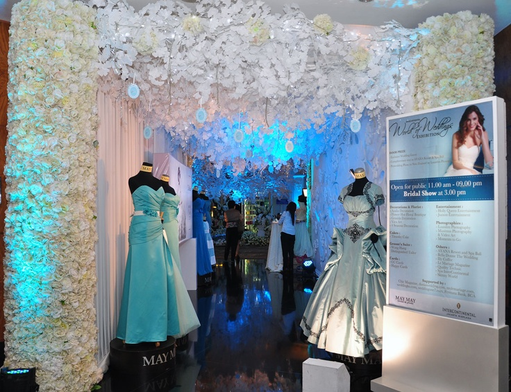 View of the ballroom entrance InterContinental Jakarta World of Weddings Exhibition