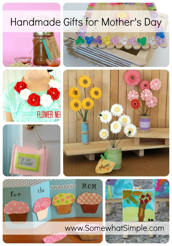 handmade mothers day gifts