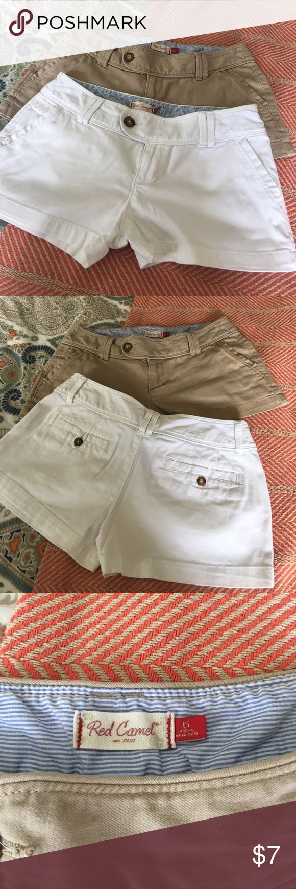 2 pairs Red Camel shorts 2 pairs Red Camel shorts. Great condition! Size 5 2.5 inch inseam Red Camel Shorts