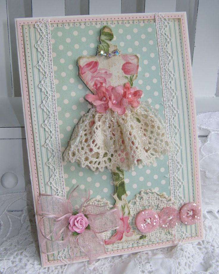 annettes paper bistro (cut the dress form die with chipboard, then fabric) |Pinned from PinTo for iPad|