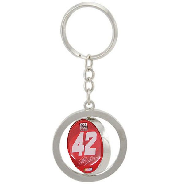 Juan Pablo Montoya Spinner Key Ring - Red