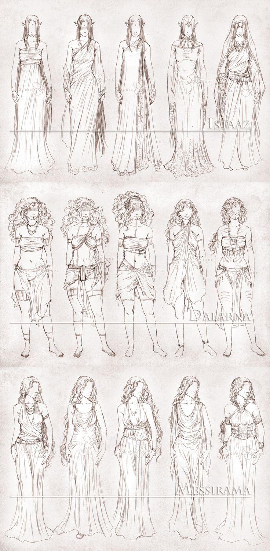 Inavesu Clothing - The girls by NadezhdaVasile.deviantart.com on @deviantART