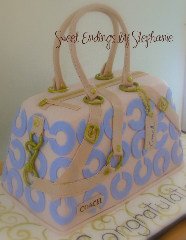 Coach Purse Graduation Cake $32.99 cheap designer handbags outlet