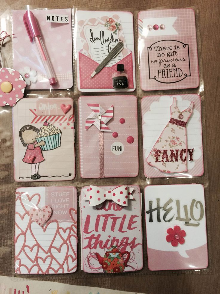 636 best ATC Pocket Letters images on Pinterest  Fimo Tags and