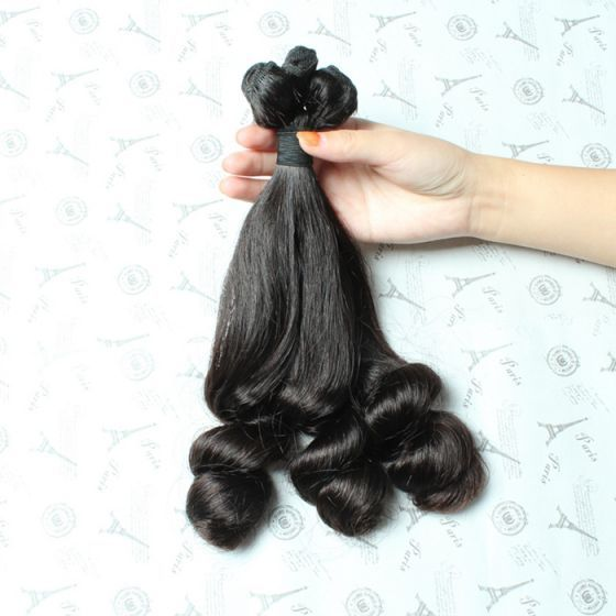 mink hair top quality aunty funmi hair bouncy curl best human hair bundles