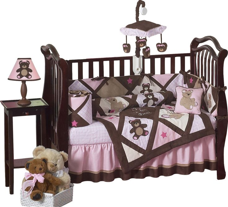 Teddy Bear 9 Piece Crib Bedding Set Toys Bedding And