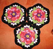 Ravelry: raole's Frida - Frida's Flowers Blanket CAL 2016 ... Variation ...