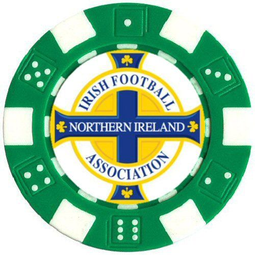 Northern Ireland Football Club Poker Card Protector by CustomChips